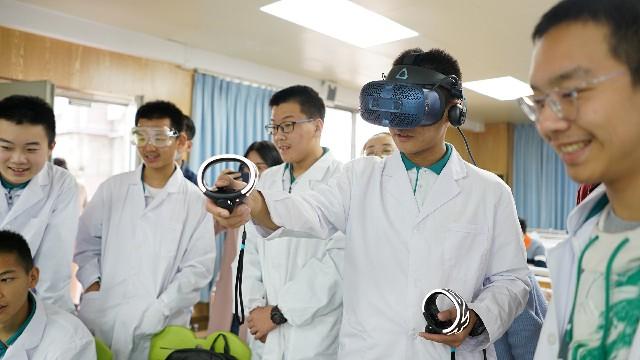"""""""黑科技""""加持,让虚拟实验教学趣味十足"""