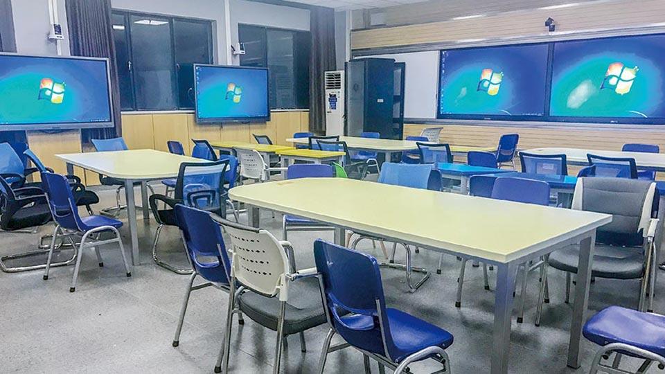 华中师范大学智慧教室建设