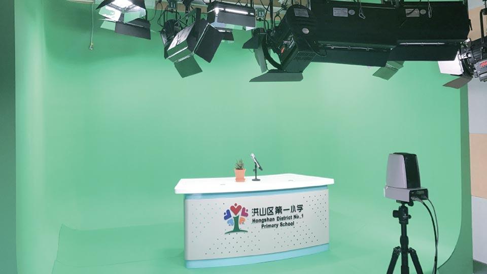 武汉洪山区第一小学校园电视台建设