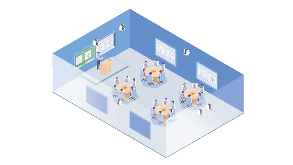 高校智慧互动教室解决方案